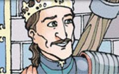 San Luis fue extraordinario, porque a pesar de toda la riqueza que tenía, siempre fue muy bueno con...