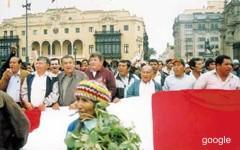 """Los manifestantes de la llamada marcha """"empleada audaz"""", se reunirán en 3 puntos de Lima..."""