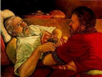 En realidad, el joven rico del que habla el evangelio, como tú y como yo, amado y llamado a seguir...