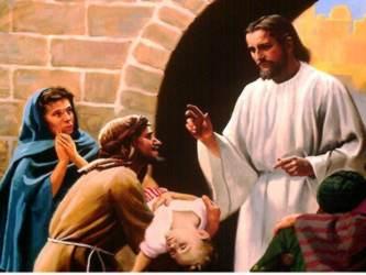 El Señor quiere dejar bien sentado que Él es el Único que puede perdonar los pecados, porque es...