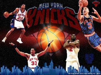 El escolta Larry Hughes encabezó el ataque de los Knicks al conseguir 25 puntos, incluidos 16 en el...