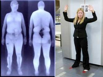 """""""Primero de todo, en los aeropuertos la gente verá la introducción gradual de los escáneres..."""