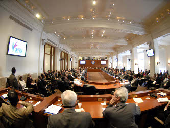 El secretario general adjunto de la OEA, Albert Ramdin, ha recopilado en las últimas horas la...