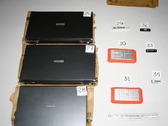 Los ordenadores fueron confiscados tras el ataque militar colombiano contra una base clandestina de...