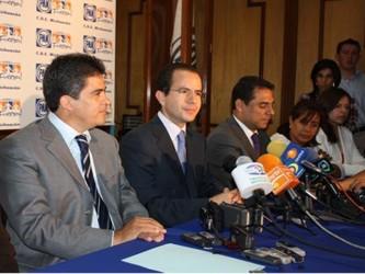 El líder del Partido Acción Nacional sostuvo que los priistas no solo incumplieron el acuerdo sino...
