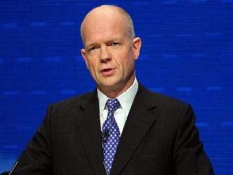 El ministro de Asuntos Exteriores, William Hague, puso hoy fecha al inicio del proceso legislativo...