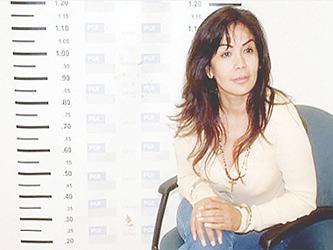"""A Ávila Beltrán, detenida en septiembre de 2007, se le relaciona sentimentalmente con """"El..."""