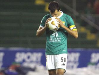 Borgetti tuvo sus últimas participaciones en la primera división con el Morelia, con el que...