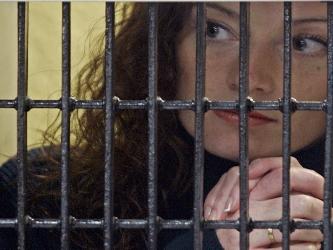 Florence Cassez, de 36 años, detenida desde 2005 en México desde donde clama inocencia, fue...