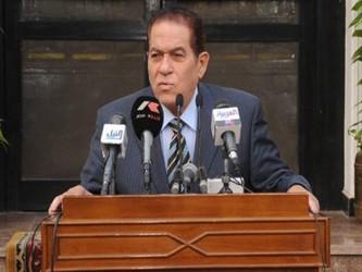 Ganzuri debía presentar su gabinete para que sea investido por el jefe del CSFA, el mariscal...