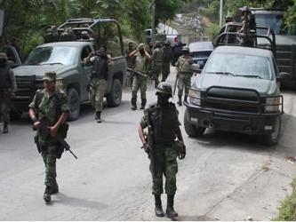Ello provocó una reacción inmediata de los elementos del Ejército, que lograron en el lugar el...