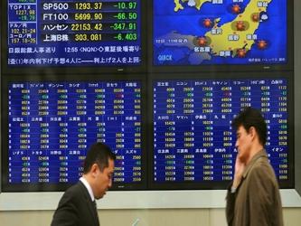 El referencial MSCI de acciones asiáticas no japonesas subía un 1 por ciento. En Japón, el índice...