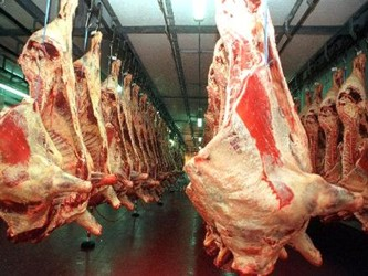 Las ventas a Brasil representan cerca de un 5 por ciento del total de las exportaciones de carne...