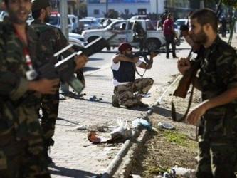 De acuerdo con Masud al Jadar, integrante de una milicia que controla la zona donde está situado el...