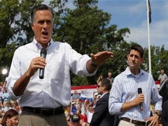 """""""La respuesta es sí a eso, muy simple, la respuesta es sí"""", dijo Romney al ser consultado..."""