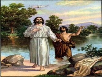 Al día siguiente Juan ve a Jesús venir hacia él y dice: «He ahí el Cordero de Dios, que quita el...