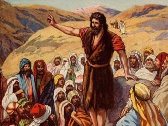 Resultado de imagen de juan bautista anuncia la llegada del mesias