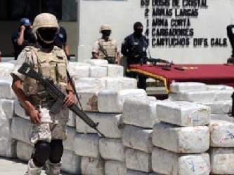La Secretaría de Seguridad Pública Municipal informó que la droga estaba contenida en 231 paquetes...