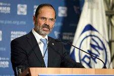 """Madero Muñoz dijo que el Partido Acción Nacional (PAN) pretende mediante la creación de un instituto nacional electoral """"un piso parejo no nada más para las elecciones federales, sino para las elecciones locales""""."""