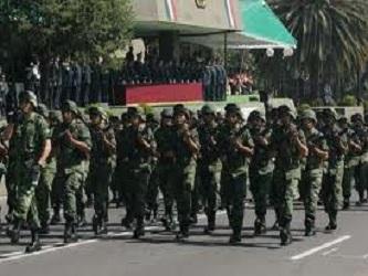 El nuevo cuartel militar se construyó en una superficie de 60 hectáreas por el libramiento Salinas...