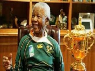 El sábado muchos recordaron el papel central de Mandela en el mayor triunfo deportivo de Sudáfrica...