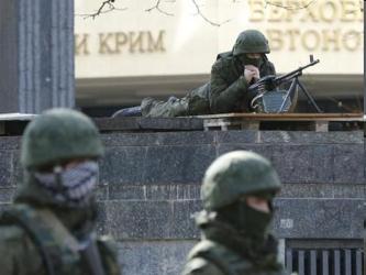 La abierta reivindicación de Putin del derecho a desplegar tropas en un país de 46 millones de...