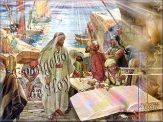 «¿Por qué coméis y bebéis con los publicanos y pecadores?». Les respondió Jesús: «No necesitan...