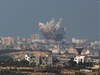 Más de 2.100 palestinos, en su mayoría civiles, murieron en los combates, según el Ministerio de...