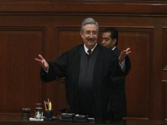 Los diez ministros del Constitucional mexicano —Sergio Valls, el undécimo juez, murió en diciembre...