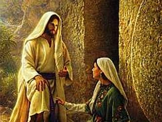 """El ángel, entrando en su presencia, dijo: """"Alégrate, llena de gracia, el Señor está..."""