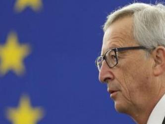 """Juncker dijo a los periodistas que Tsipras había """"abordado sólo parcialmente"""" las..."""
