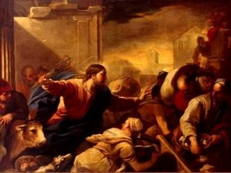 «Quitad esto de aquí. No hagáis de la Casa de mi Padre una casa de mercado». Sus discípulos se...