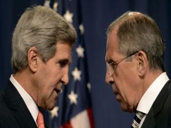 El sábado, el secretario de Estado norteamericano, John Kerry, se reunió en París con sus homólogos...