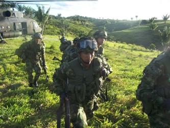 """""""Vamos por buen camino"""" aseguró por su parte el jefe negociador de las FARC, Luciano..."""
