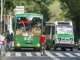 """""""La sustitución del transporte público en Ciudad de México es todo un reto, porque estamos..."""