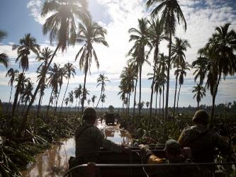 La Marina mexicana emitió un comunicado en el que se informa que 5.791 marinos, 192 vehículos,...