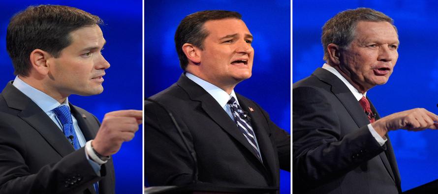 Les quedan cuatro días de campaña antes de las primarias cruciales de la semana próxima en estados...