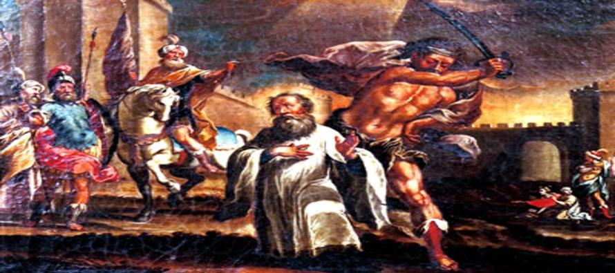 Nació el año 800 de una familia que se conservaba fervientemente católica en medio de la apostasía...