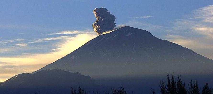 La última gran erupción del Popocatépetl fue durante el mes de diciembre del año 2000 cuando más de...