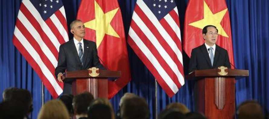 Obama cuestiona libertad pol�tica en Vietnam luego de que activistas no lograran asistir a encuentro