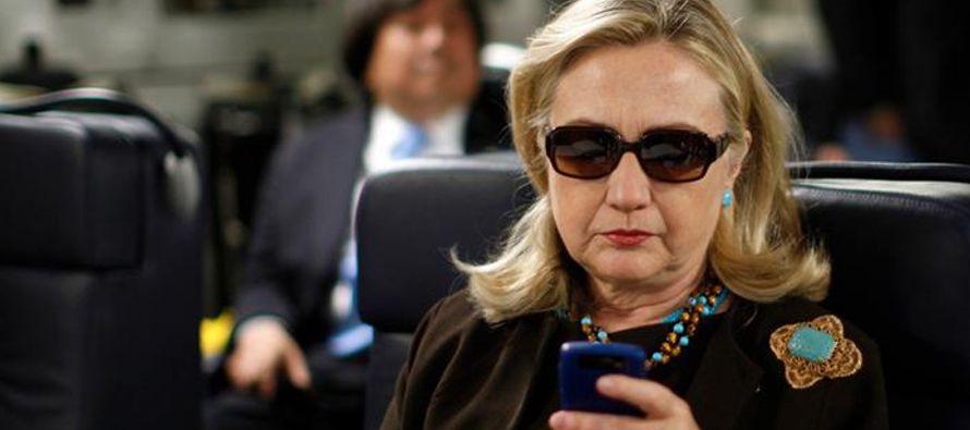 Hillary Clinton incumpli� pol�tica federal de correos electr�nicos en Estados Unidos
