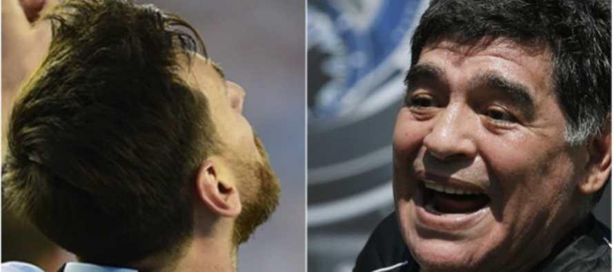 """Maradona suplica: """"Messi �tiene que seguir en la selecci�n!"""""""