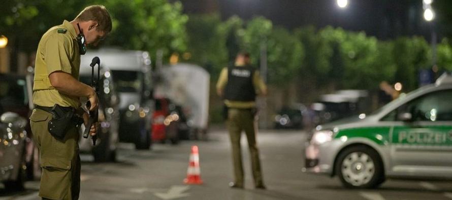 El atacante de Ansbach juró lealtad al EI y amenazó con atentar en Alemania en un vídeo encontrado en su móvil