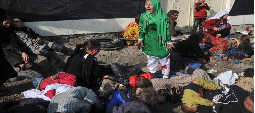 Suben los casos de ni�os muertos, heridos en Afganist�n