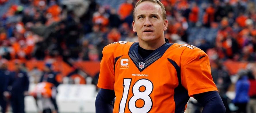 NFL exonera a Peyton Manning tras denuncias por dopaje