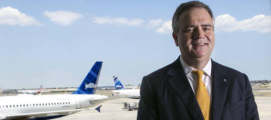 En los ajetreados 18 meses desde que fue nombrado presidente ejecutivo deJetBlue AirwaysCorp.,...