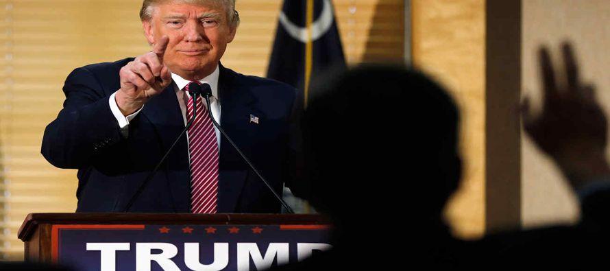 Cubrir a Donald Trump es todo un desaf�o para el periodismo