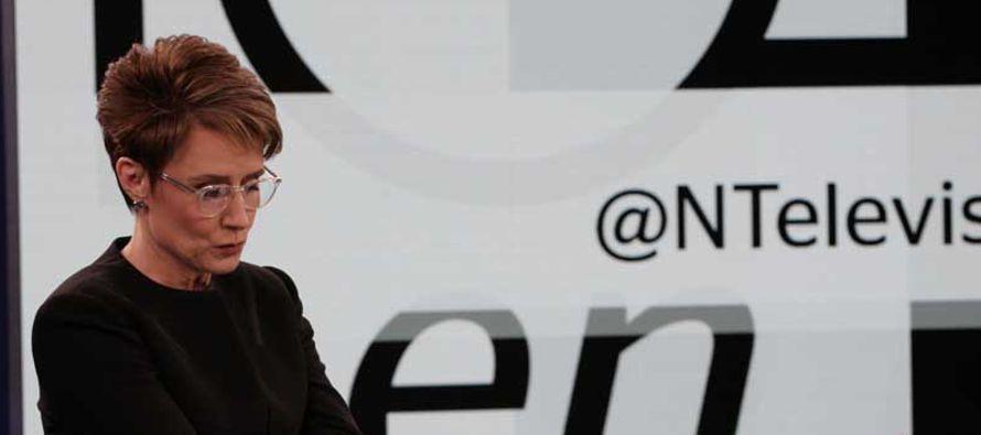 Denise Maerker se estrena como conductora del noticiero estelar de Televisa
