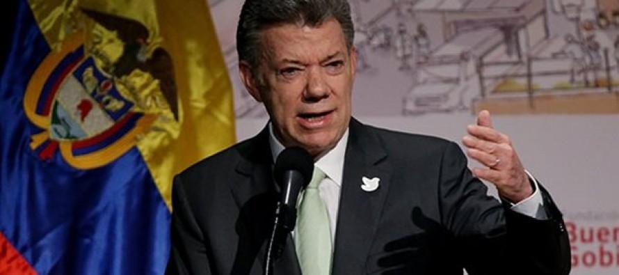 El próximo lunes, cuando firme en Cartagena de Indias el acuerdo de paz con las FARC, Santos habrá...