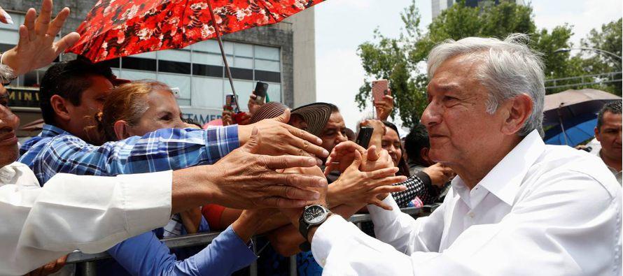L�pez Obrador omiti� activos en su declaraci�n
